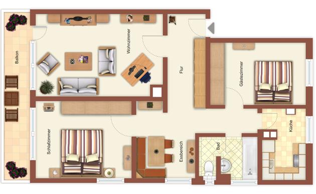 wohnung 39 am perlacher forst 39 muc4rent. Black Bedroom Furniture Sets. Home Design Ideas